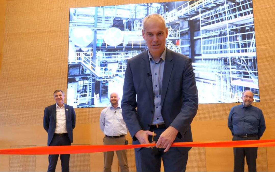 The HaloSep plant is officially inaugurated!